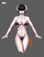 Succubus Concept Character by Digitally-Devious