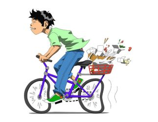 delivery boy by pooters