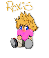 Roxas Chibi by SonicHearts