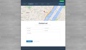 Contactpage by tempeescom