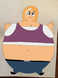 Inflated Tara Duncan colored by Montyclan