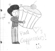 Paul's Cuppiecake by girlwitharubbersoul