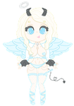 Closed || Seraphic Succubus by CuteWish