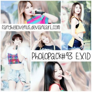 Photopack #93 EXID 57P by fanyhellovenus