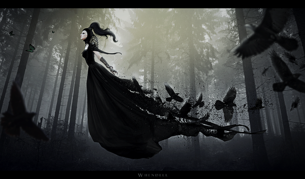 Lady of the Crows by Whendell