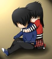 Emo love by nihase