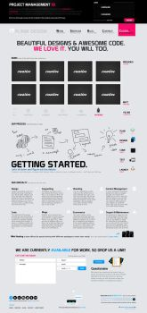 Uplink Creative Design Website by rodlalama