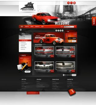 Undercover Innovations - home page online store by webdesigner1921