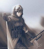 Desert Marksman by CaptainBombastic