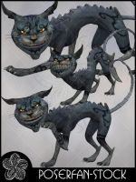 Chesire Cat 008 by poserfan-stock