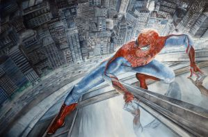 The Amazing Spider-Man by Nathalief87