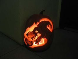 Houndoom Pumpkin