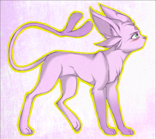 Espeon by irradiate