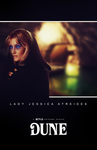Lady Jessica ''Dune'' character concept poster by NiteOwl94