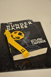 Hunger Games Cake by see-through-silence