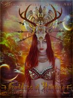 Goddess of Hunting by VeilaKs