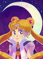 SailorMoon by CuteSkitty