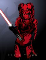 Darth Talon by witchking08