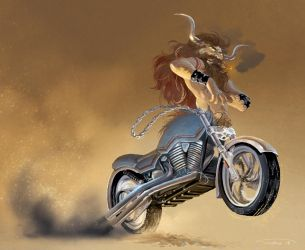 bike-otaur by ThornBulle