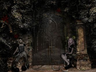 Door to the dollhouse by nervoza