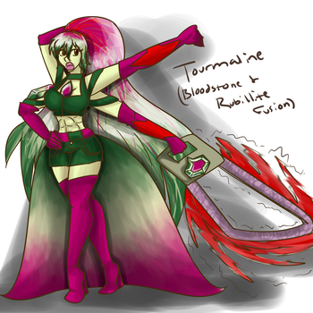 Tourmaline redesign by SilverScarlet99
