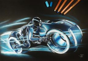 Tron by DownfallInDeath