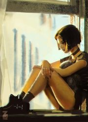 Girl by the Window by Zeronis