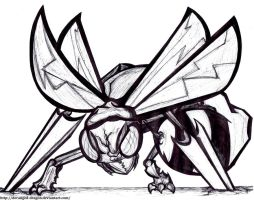 #15: Beedrill by Hisscale