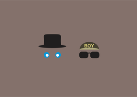 Pet Shop Boys Minimalist Background by MinimalistBia