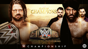 Clash of Champions Card Remake by LastSurvivorY2J