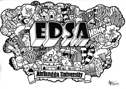 DOODLE FOR EDSA by aivvia