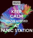 Keep calm you've arrived at panic station by asymmetrical-wings
