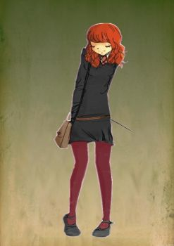 Ginny Weasley by LilyHibiscus