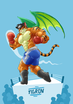 [COMMISION] Uppercat by Chirros