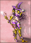 Witchlock Sweeper - art trade with Jouste by slash000
