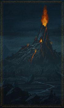 Mount Doom by TimothyAndersonArt