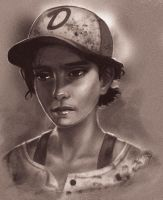 Clementine (The Walking Dead The Game) by VicDeeKey