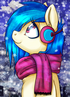 Vinyl Scarf by mywatercolorheart