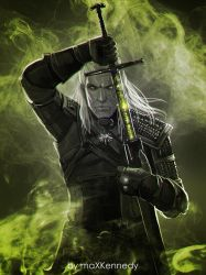 Witcher - Geralt of Rivia by maXKennedy