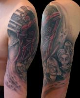 Jesus and Child of of the Damned by Anderstattoo