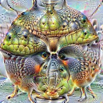 Specimen 96 by Sal Hunter - Deep Dream by oyog