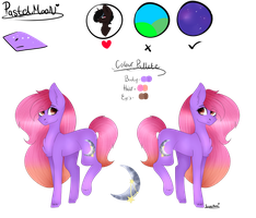 *Reference Sheet* Pastel Moon by xPastelMoonx