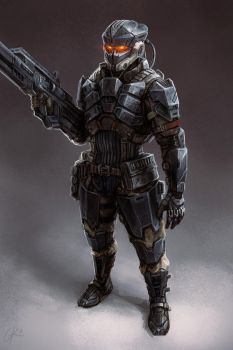 Helghast DesertTrooper GillesK by Gillesketting