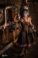 Steampunk Mad Hatter - Original cosplay #3 by TwiSearcher85