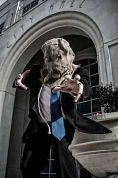 Scarecrow at City Hall by negativedreamer