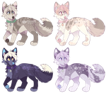 Canine Adopts - Closed by Felispirit