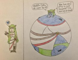 Palutena Blueberry Inflation by WarioTheInflator