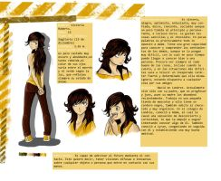 Character Sheet- Victoria by black3