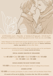 Othello Pair Christmas Event! by OthelloPair