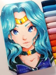 Sailor Neptune by Ladowska